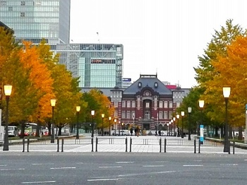 東京駅前 行幸通り 東京マラソン ゴール地点 変更 2017年 注意.jpg